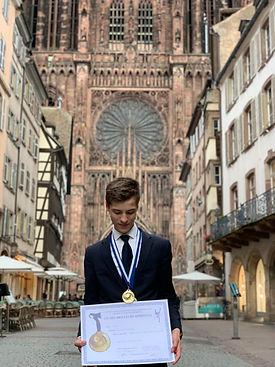 Nicolas meilleur apprenti des arts de la table 2019