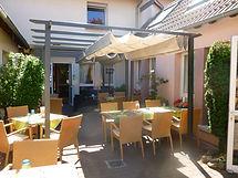 Terrasse du Ritter'Hoft à Morsbronn-les-Bains
