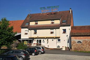Parking hôtel restaurant Ritter'Hoft, Morsbronn-les-Bains, Alsace