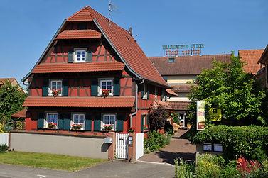 Das Hôtel Ritter'Hoft in Morsbronn-les-Bains