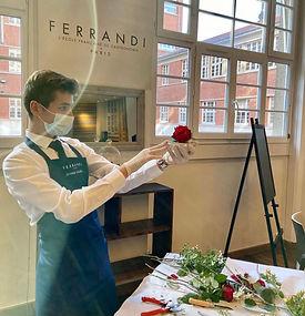 Jérémie, meilleur apprenti de France des arts de la table 2020