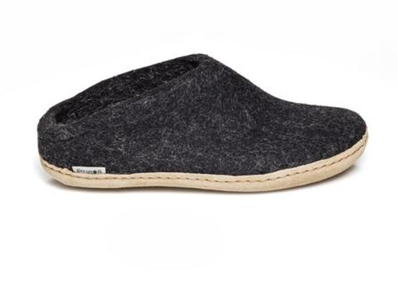 Glerups Open Heel Charcoal