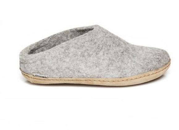Glerups Open Heel Grey