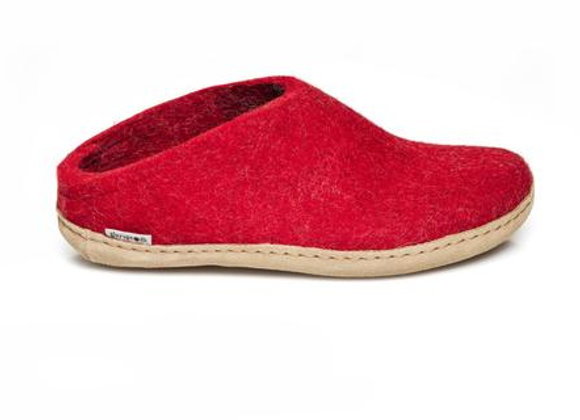 Glerups Open Heel Red