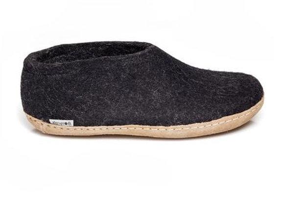 Glerups Shoe Charcoal