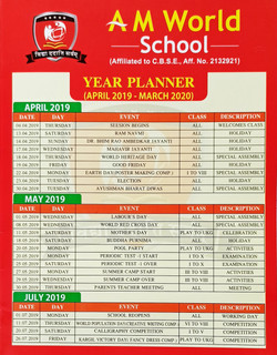 Year Planner 1