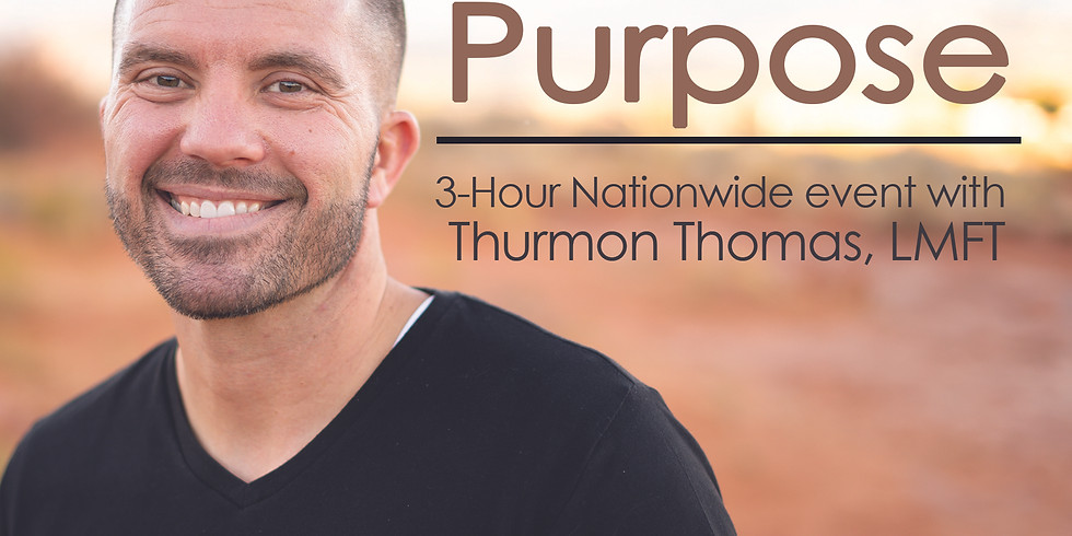 The Power of Purpose.  Discover YOU and THRIVE!