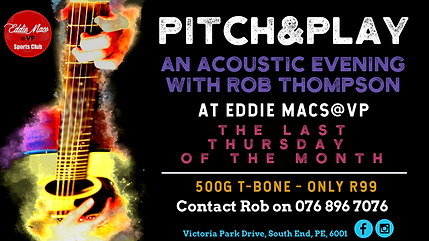 Eddie Macs@VP - Pitch & Play - Cover Pho