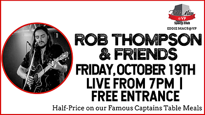Rob Thompson & Friends - Oct 19 - cOVER