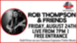 Rob Thompson & Friends - 24 AUG Cover.pn