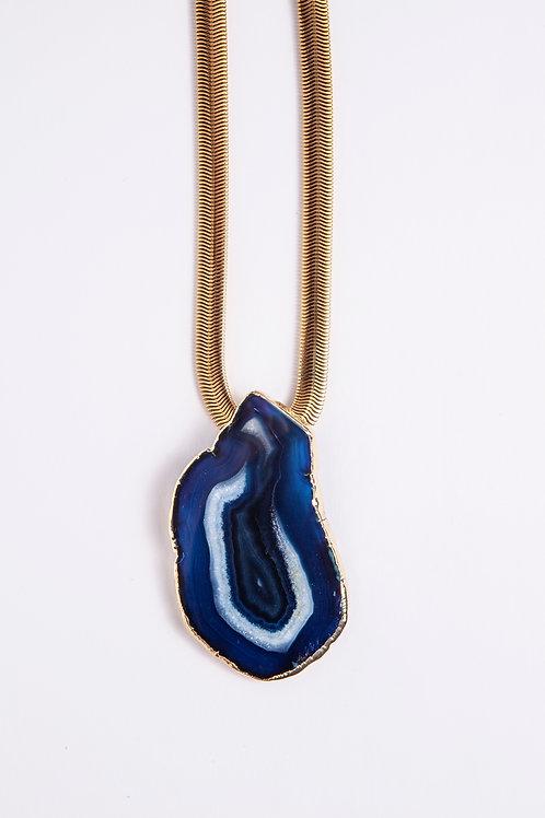 Chapa de Ágata Azul