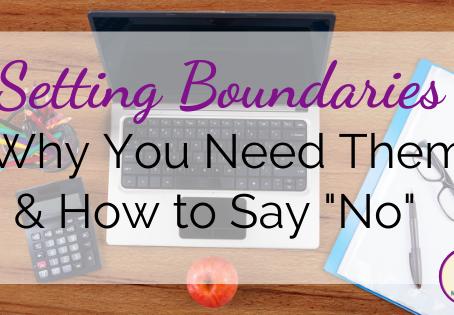 5 Ways Teachers Can Set Boundaries