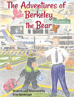 WV Author Illustrator, Berkleley the Bear