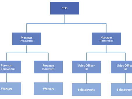 "Conversation & Pronunciation Practice ""Company Structure"""