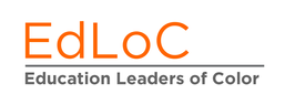 EdLoC logo HEADER orange text on white b