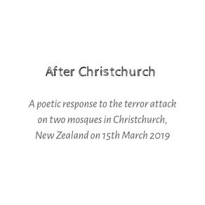 After Christchurch