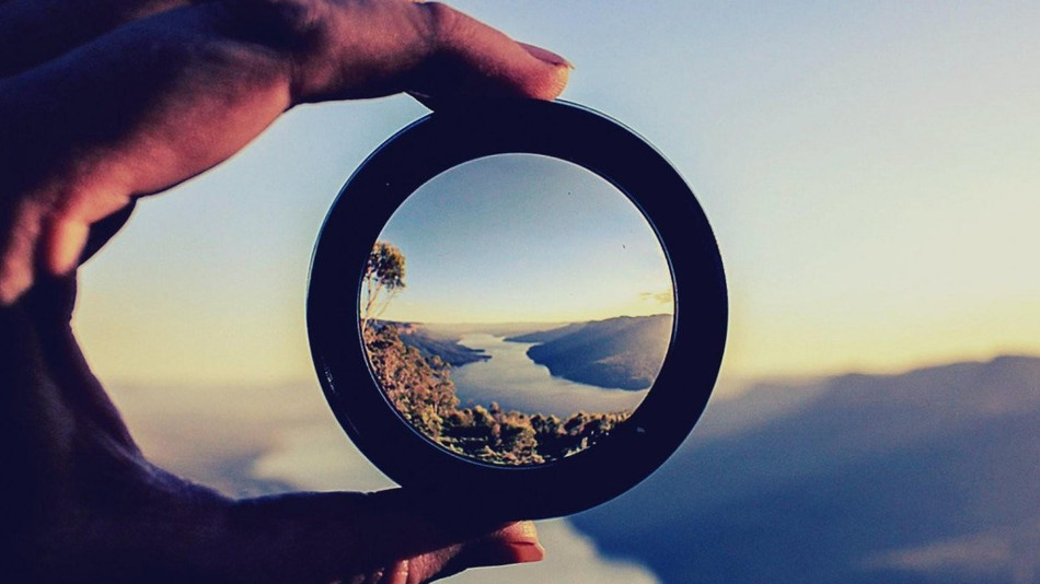 Changing your point of view.