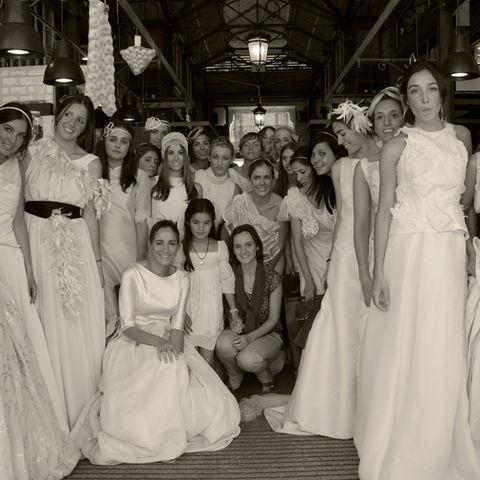 Carmen Halffter Flashmob en Mercado de San Miguel