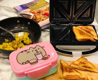 Potato Pockets (Toasties) with Cumin Sautéed Potatoes