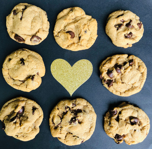 No Control Chocolate Chip Cookies!