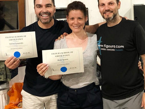 Students achieve awards for Greek Dancing in London