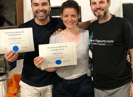 Students achieve awards for Greek Dancing in London.