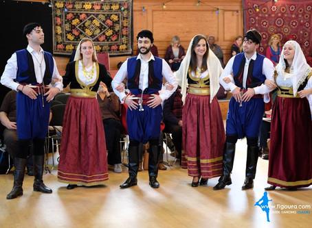 Figoura's Cretan performance - A huge hit!