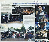 Figoura perfomrign at Go Greek
