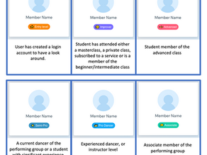 NEW feature - Member Badges