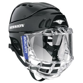 Helm komplett Bauer mit Plexi Full