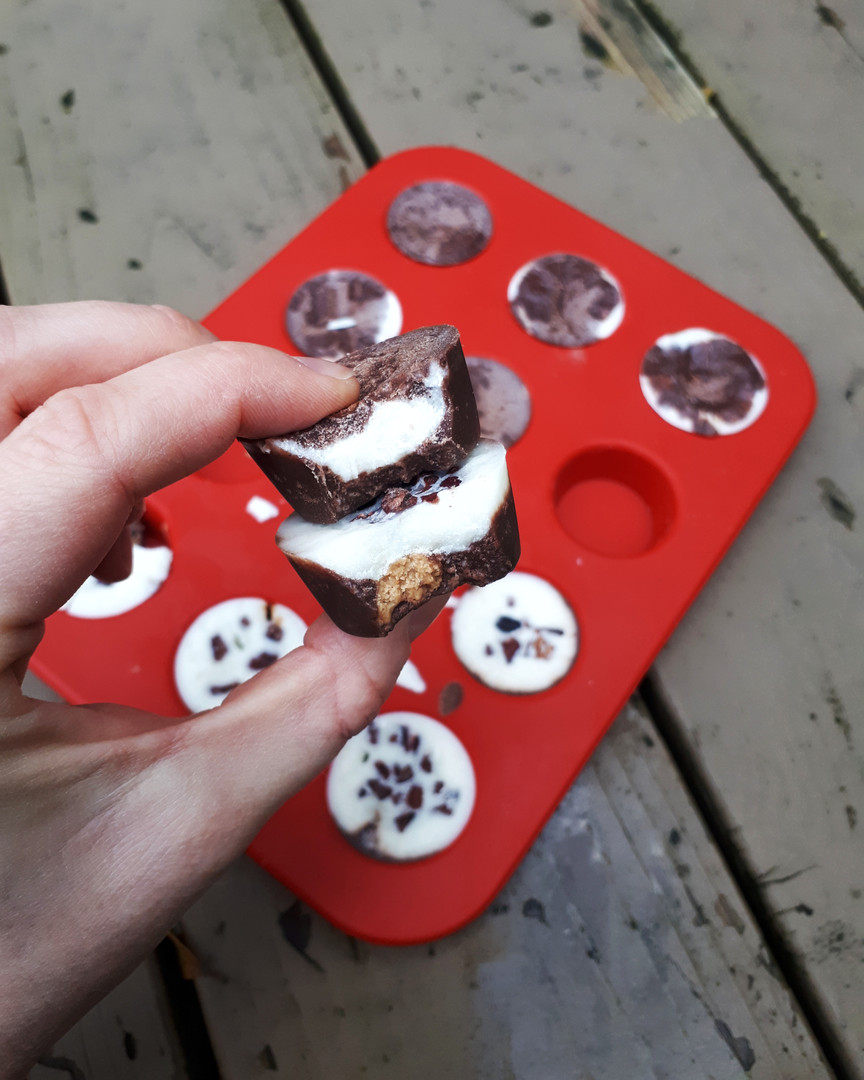 Chocolate Coconut Almond Butter Cups
