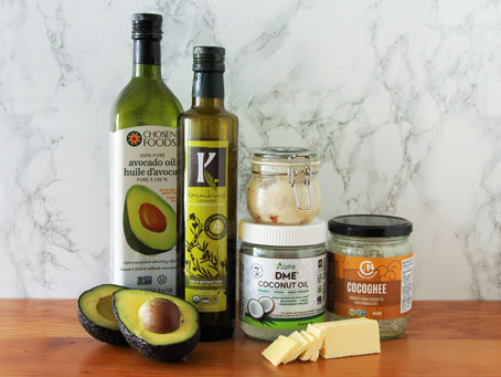 Healthy Cooking Fats - Which to Use & which to Ditch