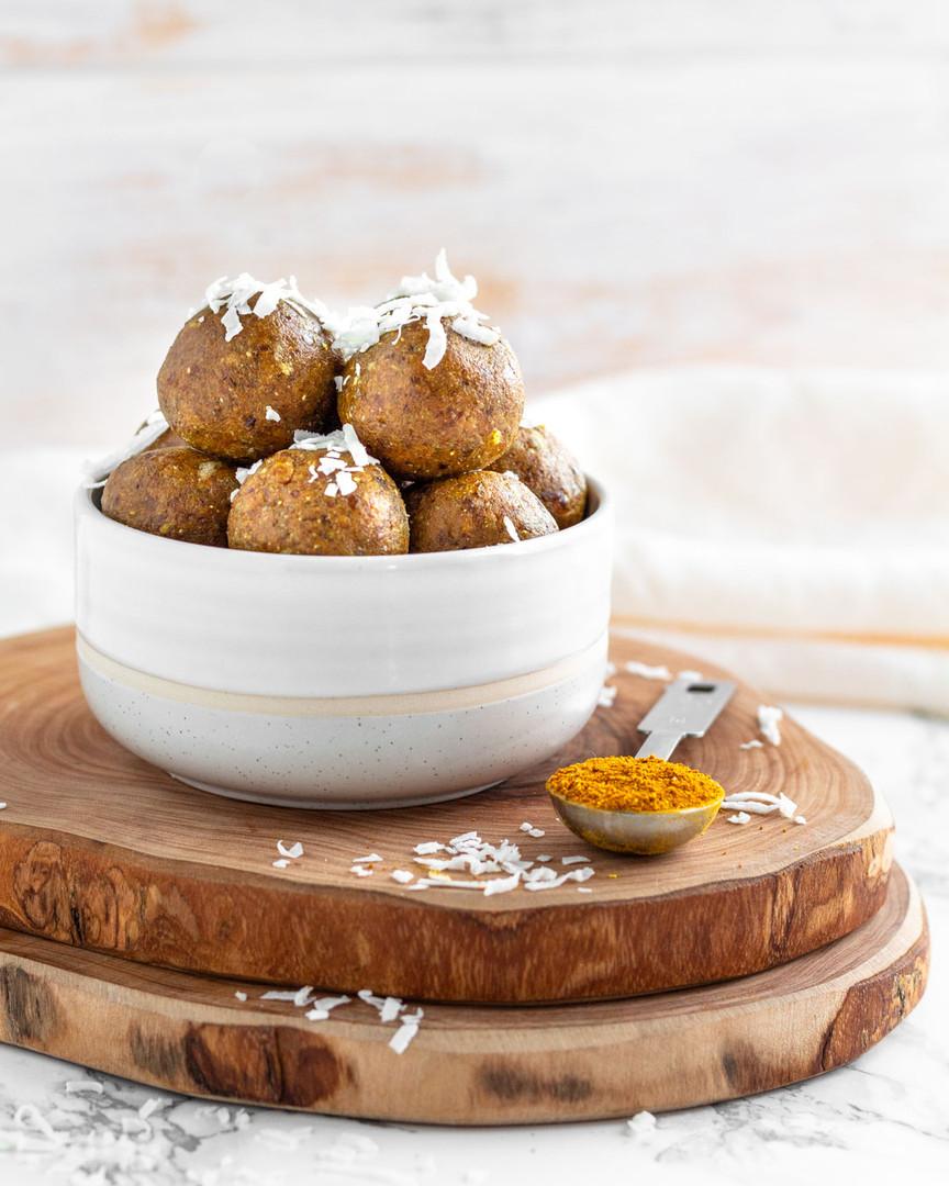 Turmeric Golden Mylk Snack Bites