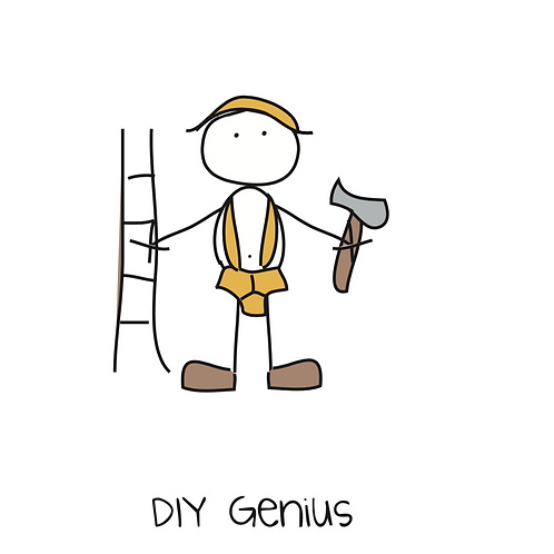 DIY genius