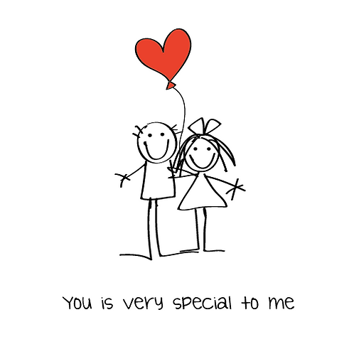 you is v special to me