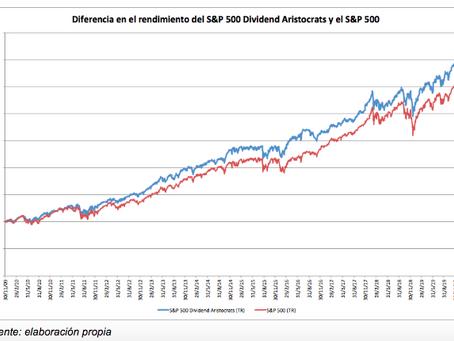 ¿En qué consiste la inversión en fondos con acciones de dividendo creciente?