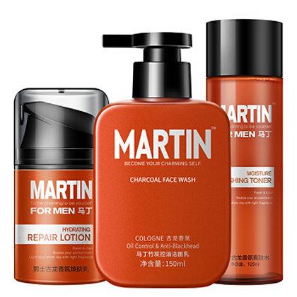 Moisturizing Oil Control 3 Step Daily Routine Skincare Set