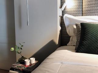 Uitgerust wakker worden in heerlijke kingsize hotelbedden