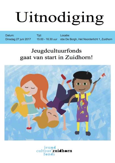 Jeugdcultuurfonds in Zuidhorn