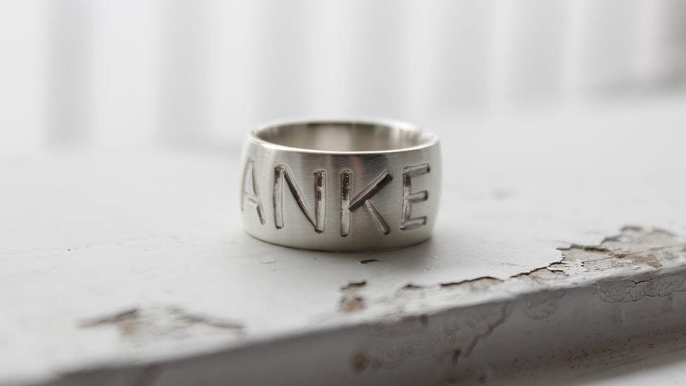 "Ring ""Danke"""
