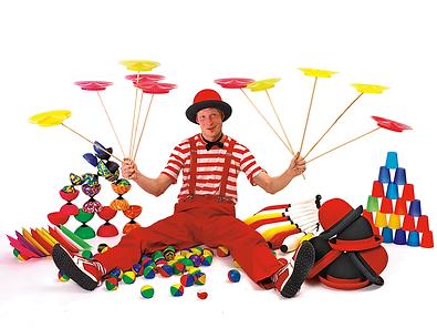 """Cirkus Big leverer cirkuslegepldser, cirkusskoler både som """"gå til og fra"""" Events eller som dedikerede undervisningsforløb med """"uddannelse"""" for øje."""