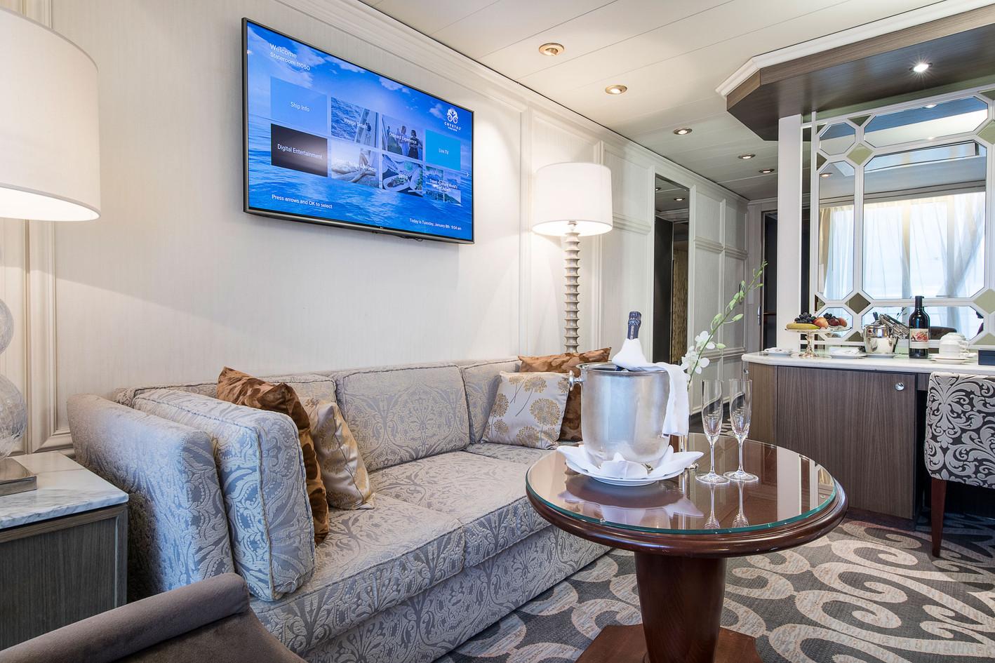 Penthouse with Verandah (PH) Living Room