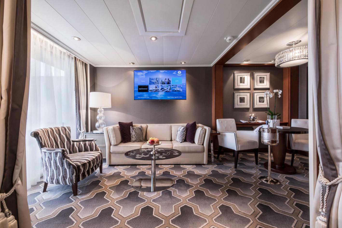 Penthouse Suite with Verandah (PS) Living Room