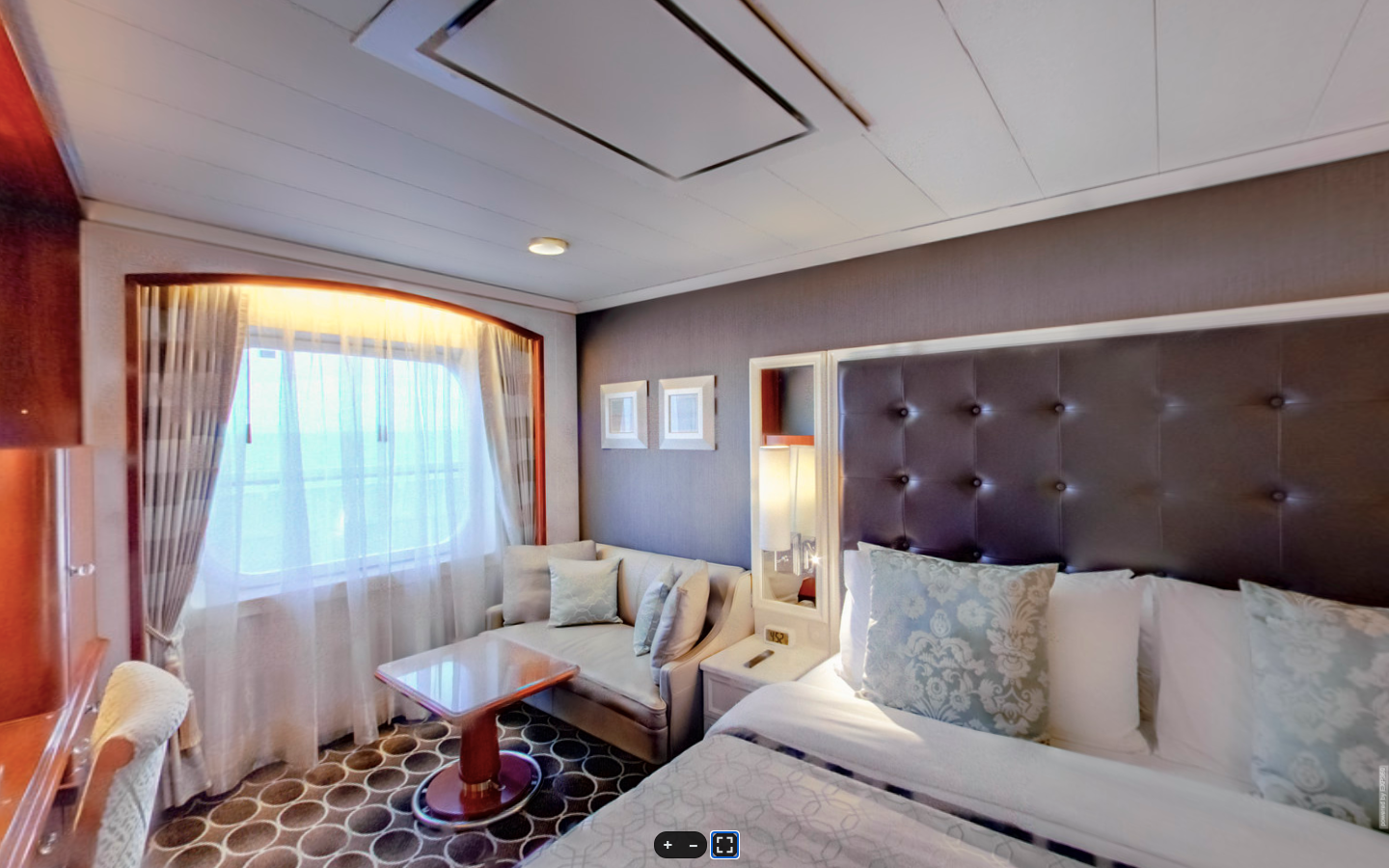 Deluxe Stateroom with a Large Picture Window (C1, C2, C3)