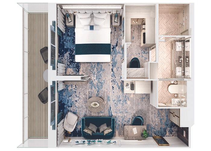 Seabreeze Penthouse Suite with Verandah (SP)