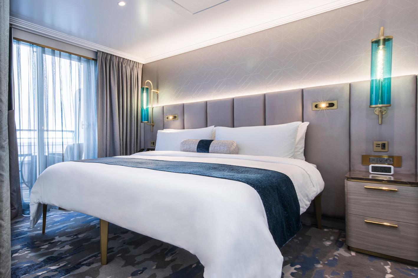 Seabreeze Penthouse Suite (SP) with Verandah Bedroom
