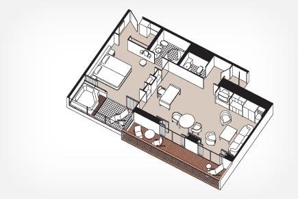 Grand Suite Floor Plan