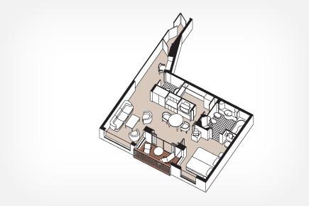 Voyager Suite Floor Plan