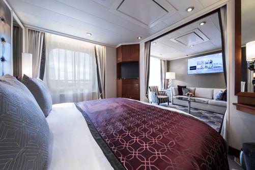 Penthouse Suite with Verandah (PS) Bedroom