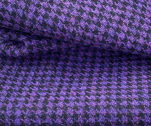 Purple Black Houndstooth